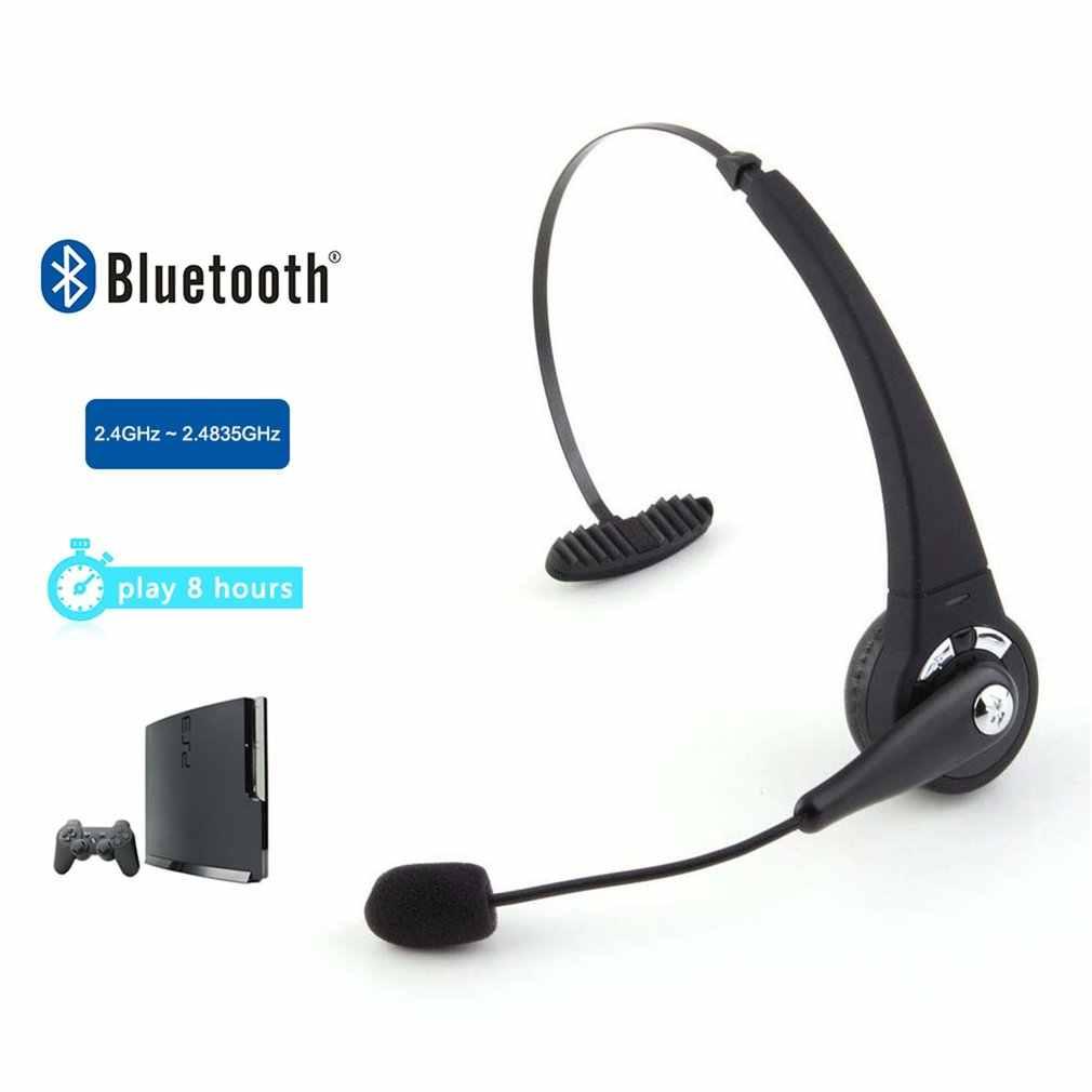 Oyun Bluetooth kablosuz kulaklık kulaklık kulaklık Stereo ses Sony PlayStation  3 için PS3 mikrofon ile Yedek Parçalar ve Aksesuarlar