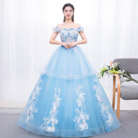 Off The Shoulder Dresses Quinceanera Dresses With Applique Tulle Ball Gown Crystal Vestidos De 15 Anos Quinceanera