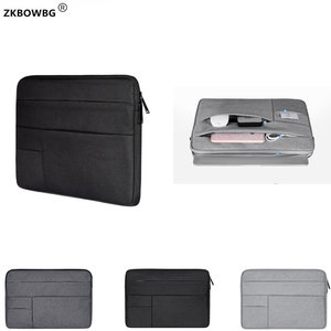 "Image 1 - Shockproof Laptop Bags For HUAWEI MateBook X Pro 13.9"" MateBook E 12"" MateBook D MateBook B 15.6"" Multi use Design Laptop Case"