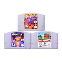 Jogos de rpg de 64 bits para nintendo, jogos de jogo de vídeo game, cartucho de console, versão dos eua, língua inglesa e nintendo