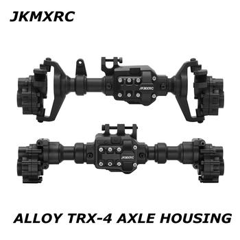 JKMXRC TRX-4 ALLOY zmontowany przedni tylny Portal osie obudowa zestaw części zamienne do 1 10 Traxxas TRX-4 zdalnie sterowana ciężarówka tanie i dobre opinie CN (pochodzenie) Metal Montowane klasy Piasta koła Złącza okablowania Pojazdów i zabawki zdalnie sterowane Wartość 10