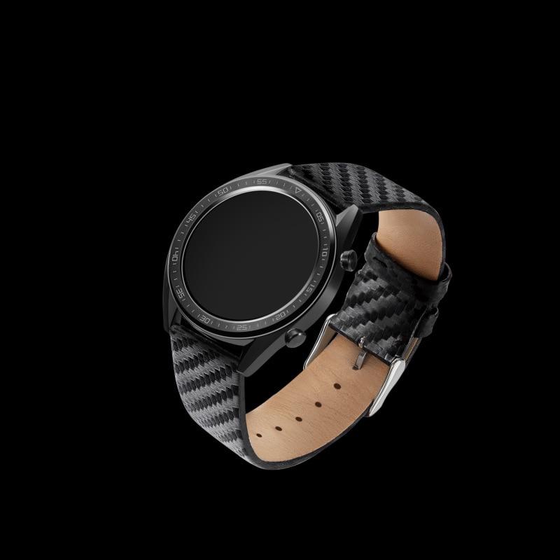 Huawei Watch2GT Watch Band Carbon Fiber Pattern Watch Strap Chinese Rice Amazfit Smart Watch Replacement Wrist Strap 22 Mm