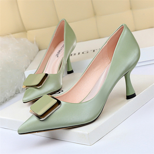 Image 3 - Women Office Shoes Black High Heels Blue Shoes Women Extreme High Heels Black Pumps Women Shoes Fetish High Heels Big Size 43