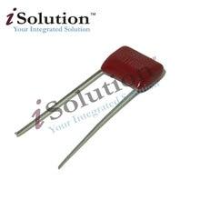 50 pces 400v103j 0.01 uf 10nf 103 400 v passo 10mm capacitor de filme de polipropileno cbb