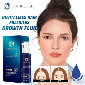 HAIRCUBE Hair Growth Spray Anti Loss for Fast Treatment Oil Tonic Care Serum Products - discount item  50% OFF Hair Care & Styling