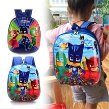 PJ Mask Juguete Backpack Waterproof Children School Bags Kids Cartoon Primary School Backpacks Schoolbags Mochila Infantil Zip