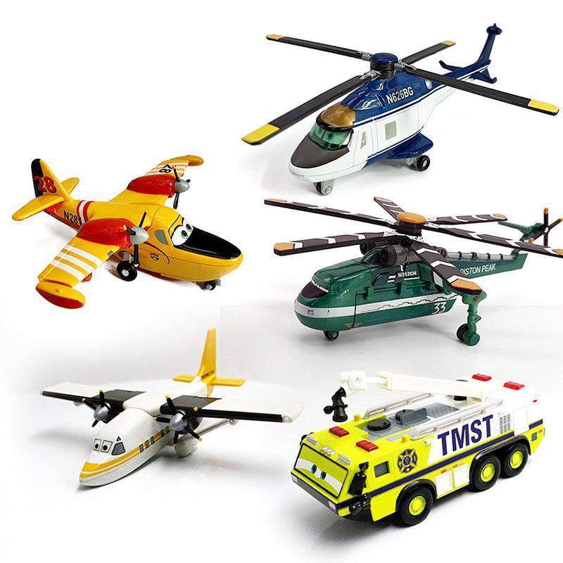 Disney Pixar Planes Dusty Crophopper Chupacabra Skipper Birthday Toy Ripslinger Metal Diecast Model Plane Toys For Children Gift