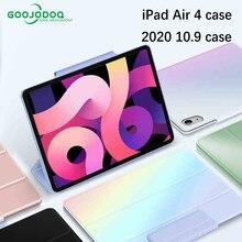 Pour iPad Air 4 étui pour iPad Pro 11 2020 2018 étui pour nouvel iPad Air 10.9 2020 étui magnétique Capa Funda Support Apple crayon