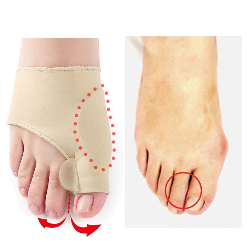 Toe - Big Toe Splint Separator, Hallux Valgus Bunion Corrector, Orthotic Feet Care
