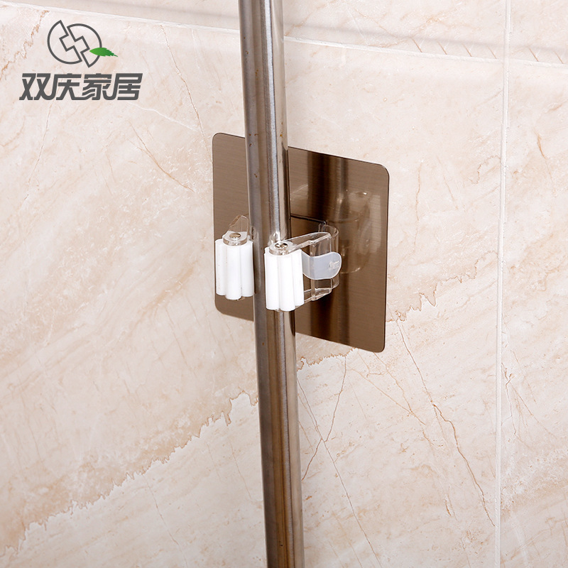 Shuangqing Hanging Type Nothing Trace Mop Mix Toilet Avoid Punch Paste Type Mop Frame Magic Power Broom Mix Cassette