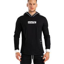 Осенний Новый мужской спортивный свитер для фитнеса пуловер