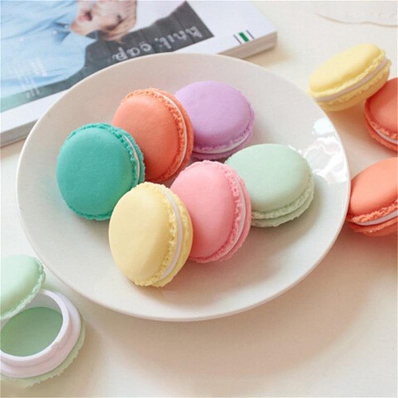 Vogvigo Candy Color Mini Cute Macarons Travel  Cosmetic Bag Makeup Case Box Organizer Toiletry Beauty Wash Kit Bath Bags New