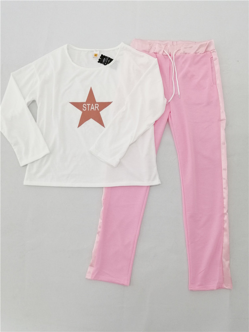 Summer Tracksuit Women 2 Piece Sets Graghic T Shirt Top + Slim Pencil Pants Sports Female Matching Set Suit Casual 2pcs Outfits