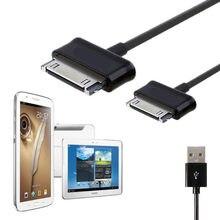 Carregador USB Cabo Cabo de Carregamento de Dados para Samsung galaxy tab Nota P1000 3 2 P3100 P3110 P5100 P5110 P7300 P7310 P7500 P7510 N8000