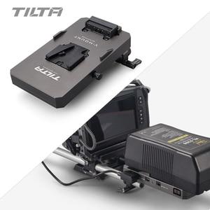Image 4 - Tilta TA BTP2 V G BMPCC 4K 카메라 전원 공급 장치 용 15mm lws로드 어댑터 V 마운트 배터리 플레이트