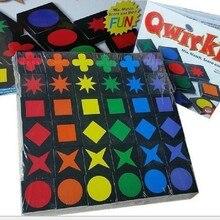 Novos brinquedos educativos qwirkle xadrez de madeira pai-criança jogo interativo brinquedos crianças e brinquedo adulto