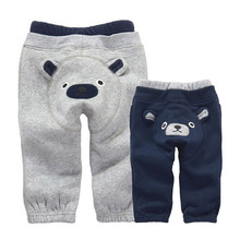 2020 Cotton Winter Baby Boy s Pants Casual Thick Children Cartoon PP Leggings