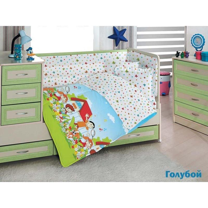 Bedding Set for baby ALTINBASAK, HAPPY KIDS multicolor