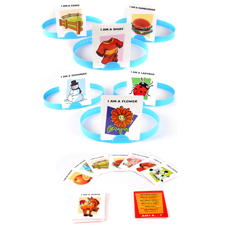 HedBanz Game Second Edition With Brand New Cards The Quick Question Of What Am I Cards Board Game Funny Gadgets Novelty Toys