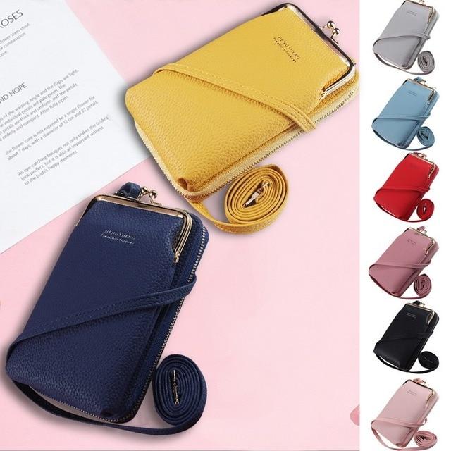 HOT Fashion Small Crossbody Bags Women Mini Matte Leather Shoulder Messenger Bag Clutch Bolsas Ladies Phone bag Purse Handbag 1