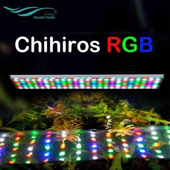 2017 Chihiros RGB series water plant grow LED light ADA style aquarium water plant fish tank full Spectrum sunrise sunset app