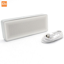 цена на Xiaomi Mi Bluetooth Speaker Basic 2 Square Box 2 Stereo Portable Bluetooth 4.2 white High Definition HD Sound Quality Play
