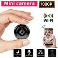 SDETER Мини wifi камера 1080P беспроводная домашняя безопасность wifi ip-камера CCTV ИК Ночное Видение Обнаружение движения Детский Монитор P2P V380