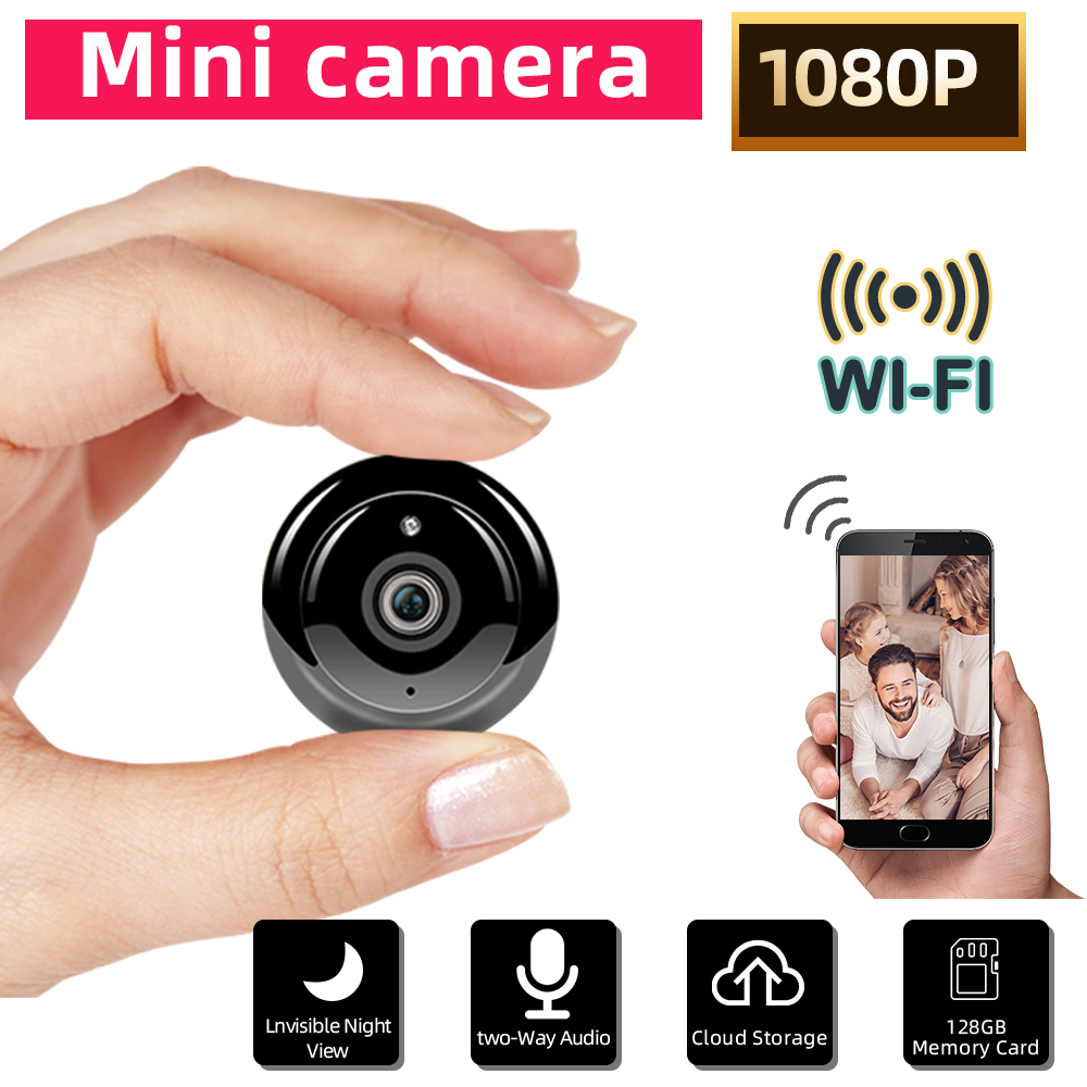 SDETER Mini WiFi Camera 1080P Wireless Home Security WIFI IP Camera CCTV IR Night Vision Motion Detection Baby Monitor P2P V380