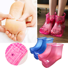 Женская ванночка для спа-терапии; Массажная обувь; ботильоны; домашняя обувь для отдыха; уход за ногами; горячая вода; zapatos mujer; нейтральная подошва