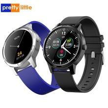 X 20 relógio inteligente das mulheres dos homens à prova dwaterproof água bluetooth smartwatch detecção de pressão arterial pedômetro esportes fitness relógio