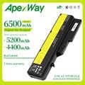Apexway 6 電池レノボ G460 G560 G465 E47G L09L6Y02 L09S6Y02 L10P6F21 LO9S6Y02 b570e V360A Z370 K47A Z560