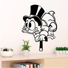 Дисней Дональд Дак наклейки на стену для детской комнаты домашний декор мультфильм наклейки на стены виниловая настенная живопись diy обои аксессуары