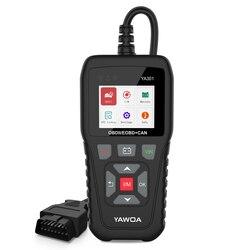 YA301 OBD2 Scanner Live Data OBD 2 Engine test Car Code Reader PK CR3001 OBD2 Auto Scanner Free Update Car Diagnostic Tool