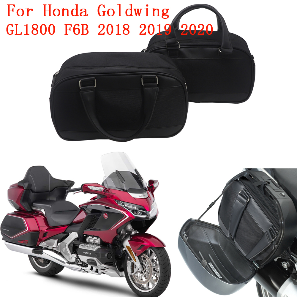 08L01-MKC-A00 SLMOTO Trunk Saddlebags Saddle Bags Liner Fit for Fit for Honda Goldwing GL1800 2018 2019 2020 Replace For
