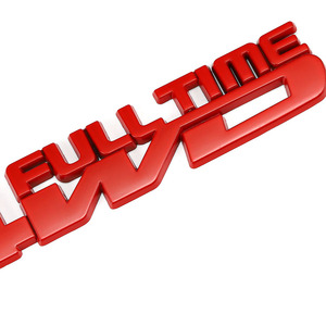 Image 5 - 4WD Full Time รถป้ายสติกเกอร์สำหรับ Toyota Celica GT4 Hummer Land Cruiser Volkswagen Phaeton Passat Ford Focus RS ST cosworth