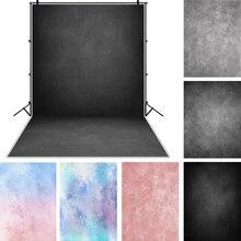 Laeacco luz azul gradiente cor sólida superfície de parede fantasia bebê padrão fotografia fundo foto pano de fundo estúdio