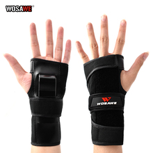 WOSAWE Motorcycle Wrist Support Hand Protection Motorbike Skating Roller Hand Guard Palm Protection For Women Boy And Girl