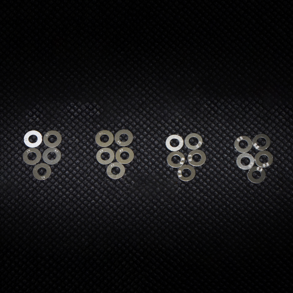 Gear Shim Set 0.1mm 0.2mm 0.3mm 0.5mm For Airsoft AEG Gearbox Any Version Air Guns Gel Blaster Jinming8 Jinming9 Accessories