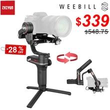 ZHIYUN Weebill S 3 Axis kablosuz görüntü şanzıman el kamera Gimbal sabitleyici Sony Canon aynasız kamera OLED ekran
