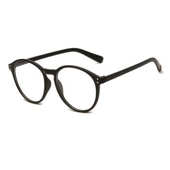 2021 ramki okularów blokujące niebieskie światło gry okulary komputerowe okulary przeciwodblaskowe ramki okularów damskie okrągłe okulary z przezroczystymi szkłami tanie i dobre opinie Unisex Z tworzywa sztucznego CN (pochodzenie) Stałe Glasses Glasses Framer