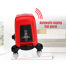лучшая цена Laser Level Red Cross Line Nivel Laser 360 Autonivelante Horizonatal Vertival 360Degree Selfleveling Nivel Laser Diagnostic Tool