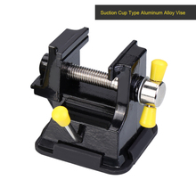Mini Table Vise Suction Cup Small Clamp Rubber Engraving Clip Bed