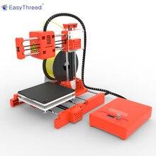 طابعة ثلاثية الأبعاد صغيرة من EasyThreed مزودة بتطبيق WIFI صغيرة رخيصة من PLA FDM مع شاشة LCD ثلاثية الأبعاد X2