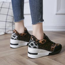 Height Increasing Women Shoes Casual Loafers Woman Fashion Sneakers Hig
