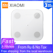 XIAOMI MIJIA Mi Body Composition Scale 2 Smart Digital Electronic Bathroom floor body fat scale Balance Bluetooth APP LED Screen cheap Four-point Type Household Scales Toughened Glass Square 150KG Body Fat and Water Content Testing Solid XMTZC05HM 2020 30*30*25mm