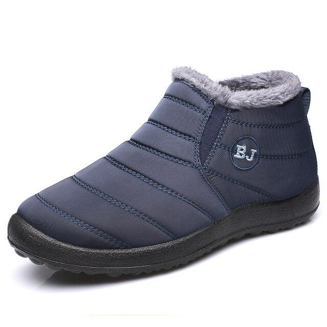 Женские зимние лёгкие и тёплые ботинки  2