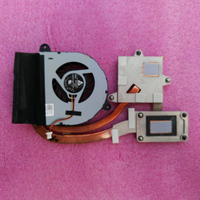 Processor Cooler For Dell Inspiron 17R 5720 7720 Laptop Radiator + Fan Copper Tube 0MV67N