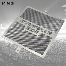 Montare la copertura della protezione della griglia del radiatore Scrambler 1200 XE per TRIUMPH Scrambler 1200XC 1200XE 2019 2020 protezione della griglia del radiatore