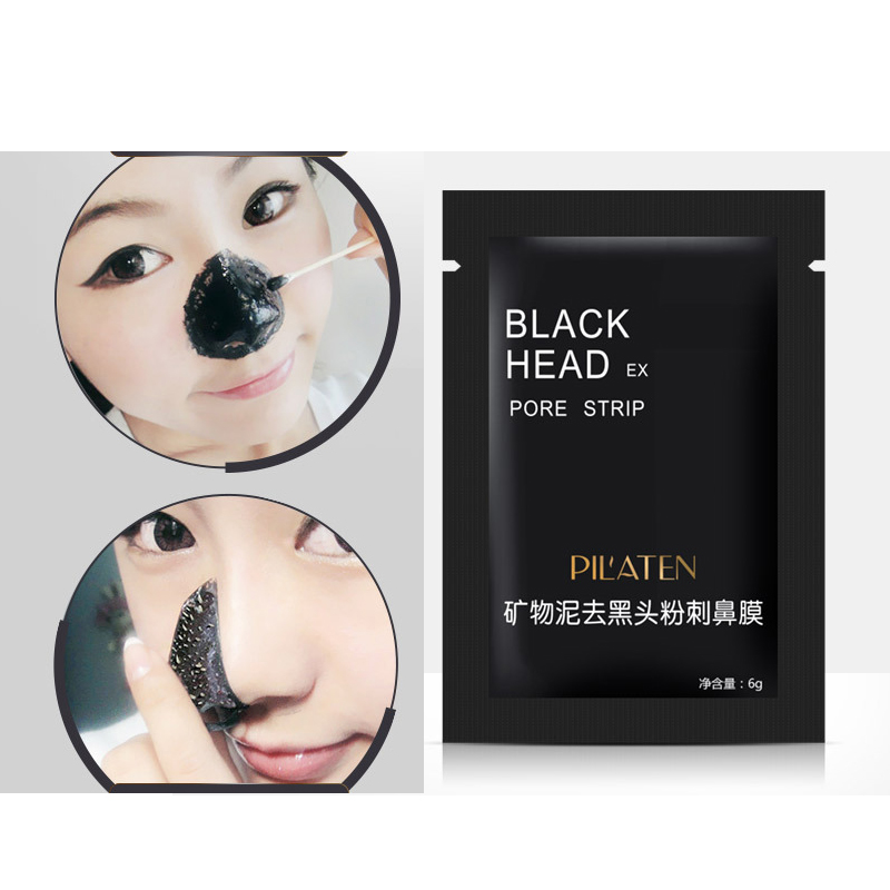2PCS Mineral Mud Blackhead Cleaner Remover Nose Membranes Cleansing Pore Strip Hot mask blackhead remover Beauty Tools