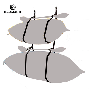 Black device Webbing Hanger Strap of 2 storage Surfboard drying SUP surf water sports kayak fishing Boat accessories fins paddle